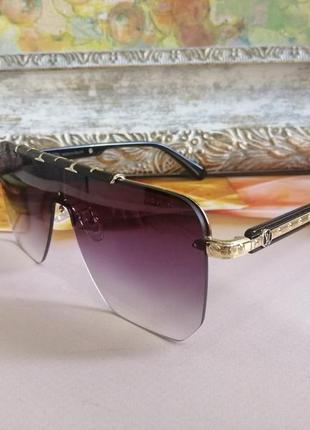 Эксклюзивные брендовые солнцезащитные шикарные очки микро ньанс