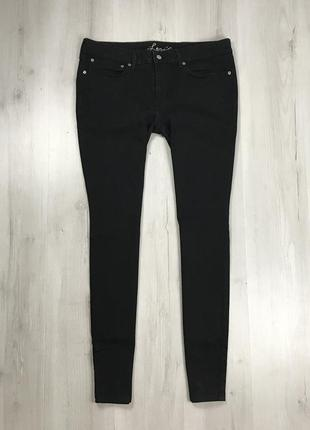 N8 n9 женские джинсы зауженные темно-серые черные темные levis штаны левайс