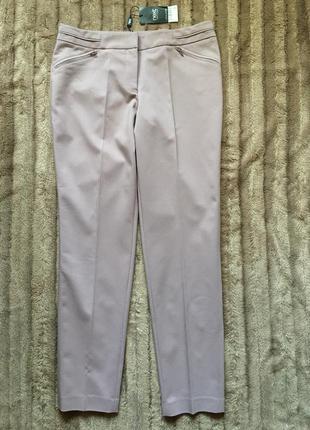 Бежево-розовые брюки