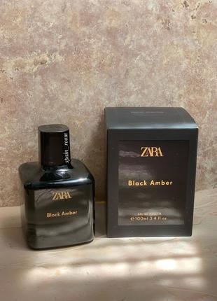 Духи zara black amber/жіночі парфуми /туалетна вода /парфюм