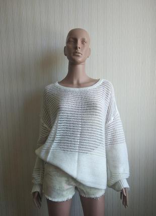 Женский джемпер, свитер benetton размер xl-2xl