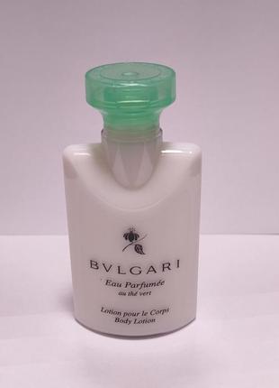Лосьон люксовый бренд для тела от bvlgari с ароматом eau parfumee au the blanc