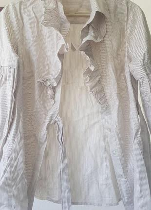 Цікава блуза з рюшою