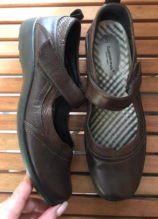 Мягкие , ультракомфортные туфли мокасины от cushion-walk