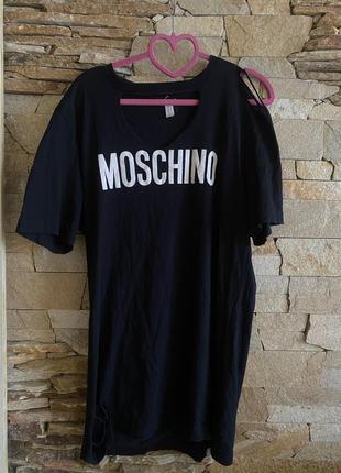 Футболка, футболка, туніка, футболка moschino