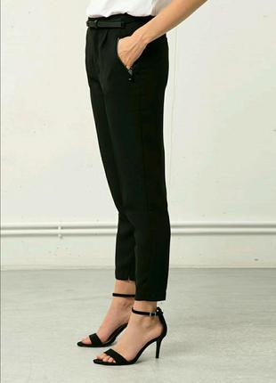 Классные чёрные штаны bershka