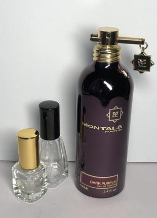 Montale dark purple, edр, цена 1 ml + атом, оригинал 100%!!! делюсь!