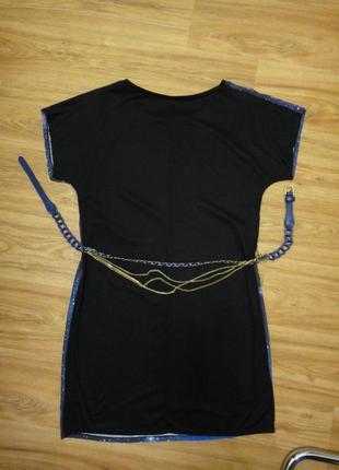 Красивое яркое летнее платье женское, туника р. 44-46 (38) с ремешком7 фото