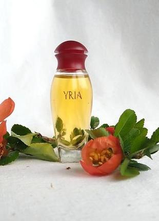 Винтажная миниатюра yria от yves rocher, 7,5 мл, парфюмированная вода
