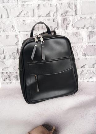 Женский кожаный рюкзак сумка кожаная женская