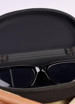 Футляр для окулярів , футляр для очков, черный футляр, красный футляр