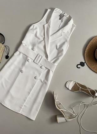 Новое элегантное платье жилет с ремешком asos