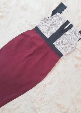 Очень классное стрейчевое платье по фигуре от vesper