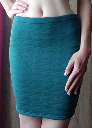 Яркая, элегантная облегающая юбка-карандаш, размер s