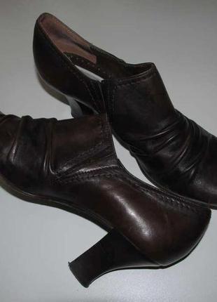 Туфли roberto santi кожаные , 26см. сост отличное!