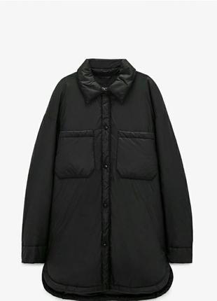 Куртка рубашка плащ zara