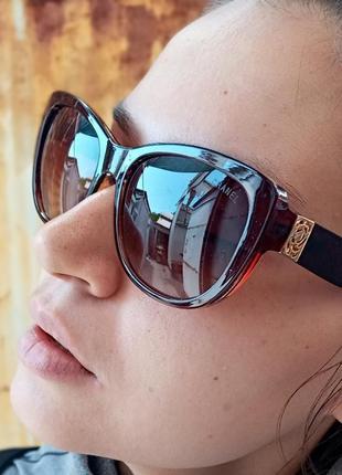Стильные качественные женские очки кошки очки лисий глаз стиль одри хепбёрн италия