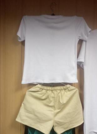 Костюм шорты и футболка микки2 фото