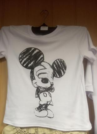 Костюм шорты и футболка микки3 фото