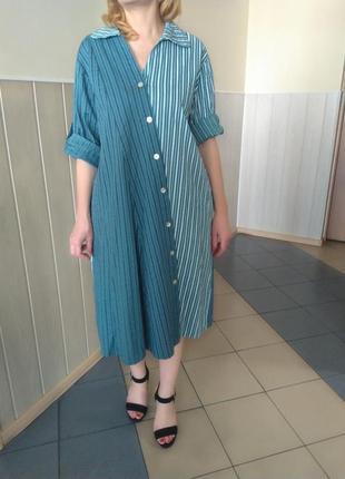 Шикарное летнее платье