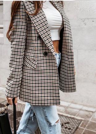 Пиджак удлиненный на подкладке