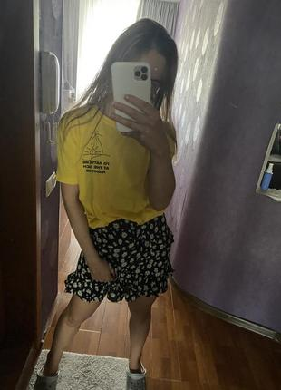 Юбка шорты zara s