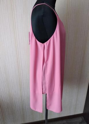 Блуза, блуза-майка-разлетайка,красивый цвет.