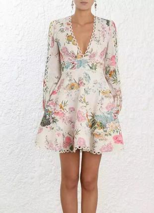Весеннее платье в нежных оттенках