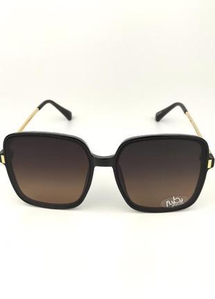 Солнцезащитные очки flyby «costa» с черной роговой оправой