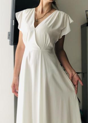 Платье на розписку, плаття на розпис , біле платття , вечірнє плаття