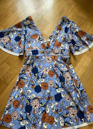 Плаття в цвети zara, р. xs {s}