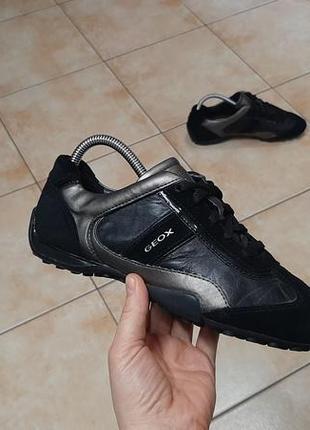 Кожаные кроссовки,ботинки,туфли geox (джеокс)