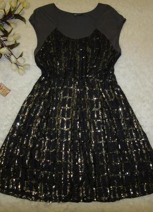 Красивое платье didi р. 50-52 (xxl) на х/б основе, с палетками
