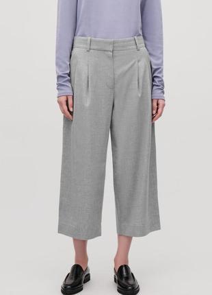 Шерстяные брюки кюлоты cos  eur 34/36