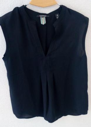 Блузка без рукавів maison scotch
