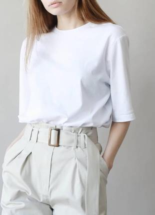 Хлопковая oversize футболка идеальный крой для oversize футболки