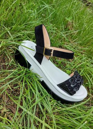 Босоножки на платформе 🍓 спортивные сандалии лето босоніжки сандалі