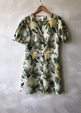 Платье в лимоны h&m 🍋