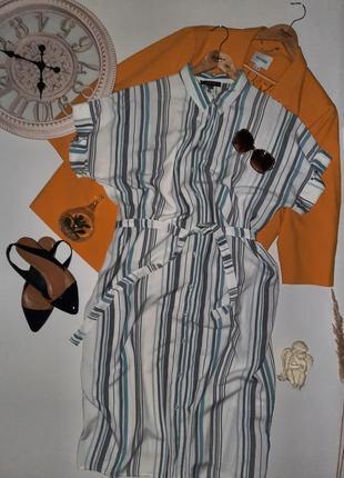Суперское миди платье рубашка/натуральное платье большой размер