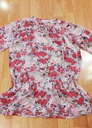 Блуза туника размер 54-56 наш tchibo тсм