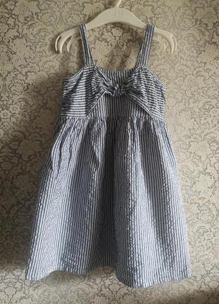 Платье сарафан primark 5-6лет 110-116см
