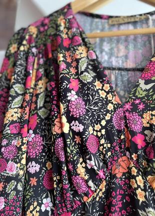 Итальянское платье pala d'oro в цветочный принт