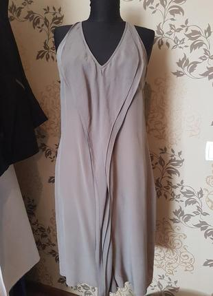 Платье из натурального шелка, шёлк