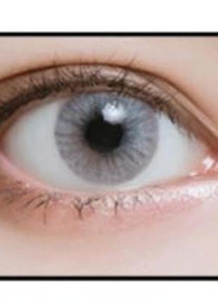 Линзы цветные для глаз аврора crystal, пара + контейнер для линз в подарок