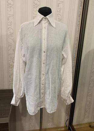Французская льняная рубашка