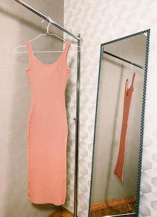 Блідо-рожева сукня від primark 🌸