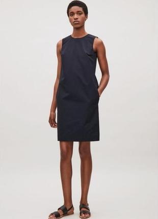 Крутое платье cos с интересной спинкой