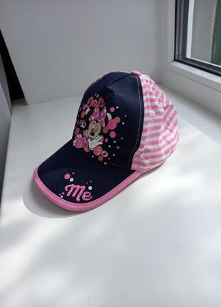 Кепка блайзер шляпа панамка minnie disney
