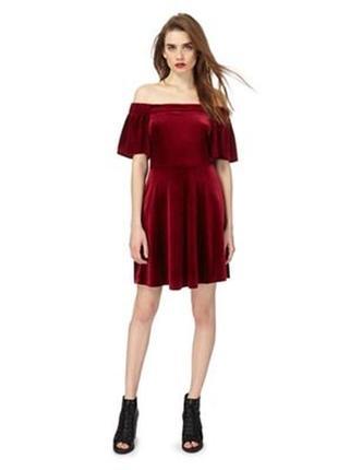 Велюровое бархатное платье, бордо2 фото