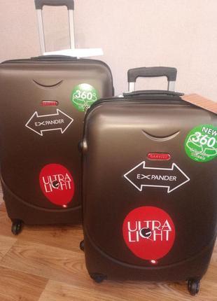 Набор чемоданов l и m